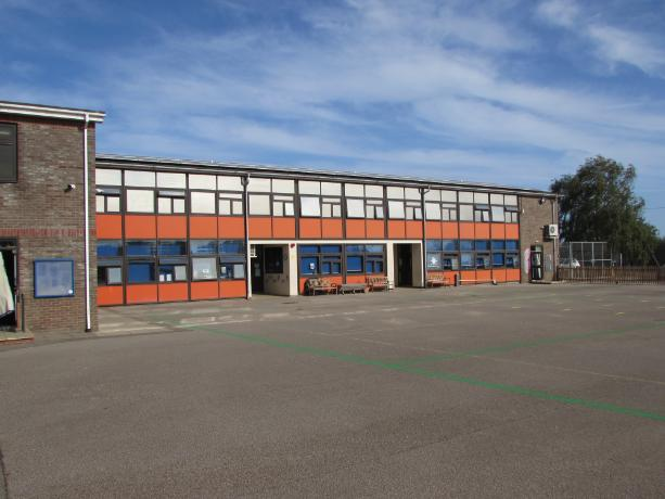 Our School from the Playground